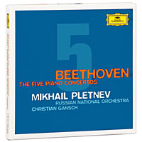 Михаил Плетнев,Кристиан Ганш,Русский национальный оркестр Mikhail Pletnev, Christian Gansch. Beethoven. The Five Piano Concertos (3 CD) михаил плетнев том 3