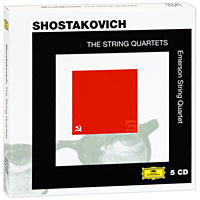 Emerson String Quartet Emerson String Quartet. Shostakovich. The String Quartets (5 CD) emerson string quartet emerson string quartet string quartet op 96 american string quartet no 1 from my life