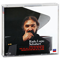 Radu Lupu. Schubert. 9 Piano Sonatas / Moments Musicaux (4 CD)