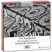 Фото - Тревор Пиннок,The English Concert Orchestra Trevor Pinnock. Mozart. The Symphonies. Collectors Edition (11 CD) cd led zeppelin ii deluxe edition