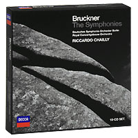 Риккардо Шайи,Deutsches Symphonie-Orchester Berlin,Royal Concertgebouw Orchestra Riccardo Chailly. Bruckner. The Symphonies (10 CD) riccardo chailly beethoven the symphonies 5 cd