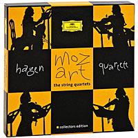 Hagen Quartett Hagen Quartet. Mozart. The String Quartets. Collectors Edition (7 CD) keller quartet keller quartet bartok the 6 string quartets 2 cd