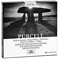 Тревор Пиннок,The English Concert Orchestra Trevor Pinnock. Purcell. Dido And Aeneas / King Arthur, etc. Collectors Edition (5 CD) cd teodor currentzis stravinsky teodor currentzishenry purcell didon aeneas