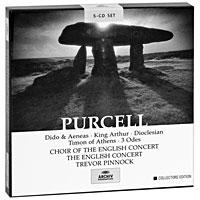 Тревор Пиннок,The English Concert Orchestra Trevor Pinnock. Purcell. Dido And Aeneas / King Arthur, etc. Collectors Edition (5 CD)