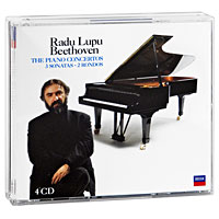 Radu Lupu. Beethoven. The Concertos / 3 Sonatas / 2 Rondos, etc. (4 CD)