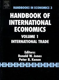 Handbook of International Economics: Volume 1: International Trade edited by ronald w jones peter b kenen handbook of international economics volume 2 international monetary economics and finance