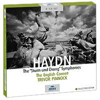 "Тревор Пиннок,The English Concert Orchestra Trevor Pinnock. Haydn. The ""Sturm Und Drang"" Symphonies (6 CD)"