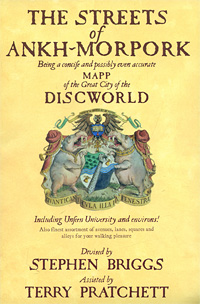 The Streets of Ankh-Morpork the light fantastic discworld the unseen university collection
