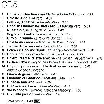Ultimate Opera.  The Essential Masterpieces (5 CD) Decca,ООО