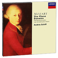 Андрас Шифф Andras Schiff. Mozart. The Piano Sonatas (5 CD) piano sonatas cd