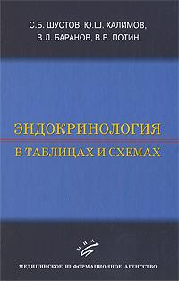 С. Б. Шустов, Ю. Ш. Халимов, В. Л. Баранов, В. В. Потин Эндокринология в таблицах и схемах b yu кардиган би ю a7746 0316 бежевый s