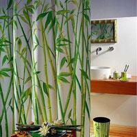 Штора Bambus green, 240 х 180 см1042058Штора для ванной комнаты Bambus green изготовлена из текстиля с гидрофобной пропиткой. В верхней кромке шторы сделаны отверстия для колец, нижняя кромка снабжена специальным отягощающим шнуром, который придает шторе естественную ниспадающую форму. Штору можно стирать в стиральной машине при температуре не выше 40 градусов, можно гладить, как синтетический материал. Шторы от компанииSpirella отличает яркий, красочный дизайн рисунков и высокое качество (гарантия на изделие 3 года). Сделайте вашу ванную комнату еще красивее! Характеристики: Материал: текстиль, полиэстер. Размер шторы (ВхШ): 240 см х 180 см. Артикул: 1042058. Изготовитель: Швейцария.