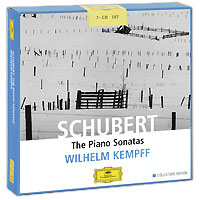 Вильгельм Кемпф Wilhelm Kempff. Schubert. The Piano Sonatas. Collectors Edition (7 CD) хорхе болетт jorge bolet liszt piano music 9 cd