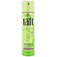 Лак для волос Taft Сила объема, сверхсильная фиксация, 225 мл9062082Лак для волос Taft Сила объема не склеивает волосы, легко удаляется при расчесывании. Push-up эффект 24 часа - от корней. Не утяжеляет волосы и легко удаляется при расчесывании.Senso Touch эффект - долговременная фиксация и ощущение естественных волос - без склеивания.Специальная формула Tatf три погоды с УФ-фильтром защищает ваши волосы от солнца, ветра и влажности. Характеристики: Объем: 225 мл. Производитель: Германия. Товар сертифицирован.