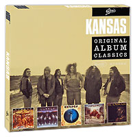 Kansas Kansas. Original Album Classics (5 CD) cd сборник christmas classics