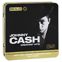 Джонни Кэш Johnny Cash. Greatest Hits (3 CD) кэрри андервуд carrie underwood greatest hits decade 1 2 cd