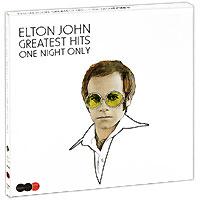 Элтон Джон Elton John. One Night Only. The Greatest Hits (2 CD + DVD)