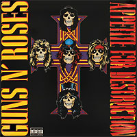 Guns N' Roses Guns N' Roses. Appetite For Destruction (LP) free shipping surefir led weapon x400 handgun flashlight with red laser sight for rifle scope pistola airsoft guns