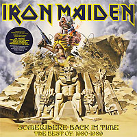 Iron Maiden Iron Maiden. Somewhere Back In Time. The Best Of: 1980-1989 (2 LP) iron maiden iron maiden can i play with madness lp