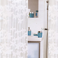 Штора Sarong white, 180х2001010627Штора для ванной комнаты Sarong white белого цвета изготовлена из полиэтиленвинилацетата. В верхней кромке шторы сделаны отверстия для колец. Штору можно стирать только руками. Шторы от компанииSpirella отличает яркий, красочный дизайн рисунков и высокое качество (гарантия на изделие 3 года). Сделайте Вашу ванную комнату еще красивее! Характеристики: Материал: пластик. Размер шторы: 180 см х 200 см. Цвет рисунка: белый. Производитель: Швейцария. Артикул: 1010627.