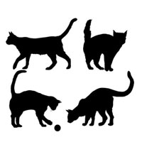 Стикер Paristic Коты, 33 х 40 см1281-BLДобавьте оригинальность вашему интерьеру с помощью необычного стикера Коты. Изображения на стикере выполнены в виде различных силуэтов котов (на одном листе 4 изображения). Изображения можно разделить и разместить в любых местах в выбранном вами помещении, создав тем самым необычную композицию.Необыкновенный всплеск эмоций в дизайнерском решении создаст утонченную и изысканную атмосферу не только спальни, гостиной или детской комнаты, но и даже офиса. Стикервыполнен из матового винила - тонкого эластичного материала, который хорошо прилегает к любым гладким и чистым поверхностям, легко моется и держится до семи лет, не оставляя следов. Сегодня виниловые наклейки пользуются большой популярностью среди декораторов по всему миру, а на российском рынке товаров для декорирования интерьеров - являются новинкой.Paristic - это стикеры высокого качества. Художественно выполненные стикеры, создающие эффект обмана зрения, дают необычную возможность использовать в своем интерьере элементы городского пейзажа. Продукция представлена широким ассортиментом - в зависимости от формы выбранного рисунка и от Ваших предпочтений стикеры могут иметь разный размер и разный цвет (12 вариантов помимо классического черного и белого). В коллекции Paristic-авторские работы от урбанистических зарисовок и узнаваемых парижских мотивов до природных и графических объектов. Идеи французских дизайнеров украсят любой интерьер: Paristic -это простой и оригинальный способ создать уникальную атмосферу как в современной гостиной и детской комнате, так и в офисе. В настоящее время производство стикеров Paristic ведется в России при строгом соблюдении качества продукции и по оригинальному французскому дизайну. Характеристики:Размер листа: 40 см х 33 см. Комплектация: виниловый стикер; инструкция; Производитель: Франция.