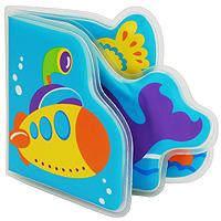 """Книжка-пищалка для ванной """"Подводное путешествие"""", от 6 месяцев, Мир Детства"""