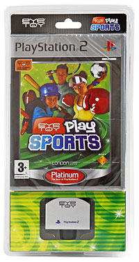 EyeToy: Play Sports. Platinum (+ камера) (PS2), Sony Computer Entertainment (SCE)