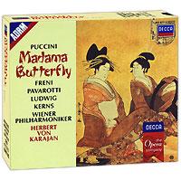 Фото Герберт Караян,Мирелла Френи,Лучано Паваротти,Криста Людвиг Herbert Von Karajan. Puccini. Madama Butterfly (3 CD)