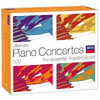 Клаудио Аррау,Колин Дэвис,Элиаху Инбал Ultimate Piano Concertos: The Essential Masterpieces (5 CD)