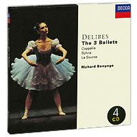 Ричард Бонинг,National Philharmonic Orchestra Richard Bonynge. Delibes. The 3 Ballets (4 CD) ричард томпсон richard thompson live at the bbc 3 cd dvd