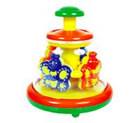 Игрушка Заводная карусель заводная машина игрушка