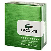 Lacoste Туалетная вода Essential, 75 мл0737052483238Уникальный аромат Lacoste Essential – это квинтэссенция свежести и энергии. Верхняя нота: мандарин, бергамот, листья помидора.Средняя нота: черная смородина, черный перец.Шлейф: пачули, сандал.Lacoste Essential - яркое отражение философии марки: стремление к свободе, умение отдыхать и наслаждаться жизнью. Этот свежий и современный аромат, сочетающий пряные и древесные ноты - настоящая классика.Дневной и вечерний аромат.