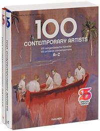 100 Contemporary Artists / 100 zeitgenossische Kunstler / 100 artistes contemporains (комплект из 2 книг) браслет prince special promotion the art of curetm safety knotted cherry