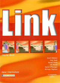 Link Upper Intermediate: Course Book (+ CD-ROM) mackie g link intermediate wook book