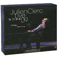 Julien Clerc. Live 74, 77, 81 & 09 (7 CD)