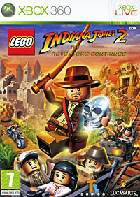 LEGO Indiana Jones 2: The Adventure Continues (Xbox 360), LucasArts Entertainment,Traveller's Tales
