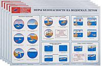 Правила поведения при вынужденном автономном существовании в природной среде (комплект из 12 плакатов)
