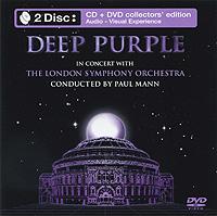 Deep Purple,The London Symphony Orchestra Deep Purple. In Concert With London Symphony Orchestra (CD + DVD) deep purple deep purple stormbringer 35th anniversary edition cd dvd