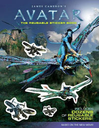 James Cameron's Avatar: The Reusable Sticker Book dashner james mortality doctrine the rule of thoughts book 2 dashner james