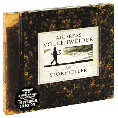 Andreas Vollenweider.  The Storyteller (CD + DVD) Edel Records,Концерн