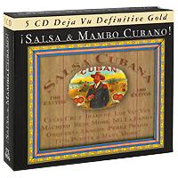 Бени Мо,Los Van Van,Orquesta Aragon,Адальберто Альварес,Celina Gonzalez,Grupo Sierra Maestra ,Irakere Salsa & Mambo Cubano (5 CD)
