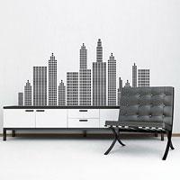 """Стикер Paristic """"Нью-Йорк"""", цвет: черный, 73 х 150 см, Paris-Paris"""