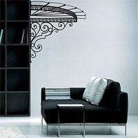 Стикер Paristic Маркиза (вправо), цвет: черный, 102 х 113 смВ 2039Добавьте оригинальность вашему интерьеру с помощью необычного стикера Маркиза. Изображение на стикере представлено в виде изящного навеса маркизы.Необыкновенный всплеск эмоций в дизайнерском решении создаст утонченную и изысканную атмосферу не только спальни, гостиной или детской комнаты, но и даже офиса. Стикервыполнен из матового винила - тонкого эластичного материала, который хорошо прилегает к любым гладким и чистым поверхностям, легко моется и держится до семи лет, не оставляя следов.Сегодня виниловые наклейки пользуются большой популярностью среди декораторов по всему миру, а на российском рынке товаров для декорирования интерьеров - являются новинкой.Paristic - это стикеры высокого качества. Художественно выполненные стикеры, создающие эффект обмана зрения, дают необычную возможность использовать в своем интерьере элементы городского пейзажа. Продукция представлена широким ассортиментом - в зависимости от формы выбранного рисунка и от Ваших предпочтений стикеры могут иметь разный размер и разный цвет (12 вариантов помимо классического черного и белого). В коллекции Paristic-авторские работы от урбанистических зарисовок и узнаваемых парижских мотивов до природных и графических объектов. Идеи французских дизайнеров украсят любой интерьер: Paristic -это простой и оригинальный способ создать уникальную атмосферу как в современной гостиной и детской комнате, так и в офисе. В настоящее время производство стикеров Paristic ведется в России при строгом соблюдении качества продукции и по оригинальному французскому дизайну.