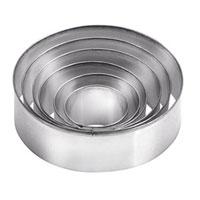 Набор формочек для выпечки Круги, 6 шт. 631360 набор формочек для выпечки tescoma 6 шт 631532