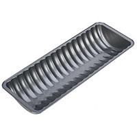 Форма для выпечки хлеба Tescoma полукруглая. 623088623088Форма для выпечки хлеба Tescoma будет отличным выбором для всех любителей домашней выпечки. Особое высокотехнологичное антипригарное покрытие не допустит пригорания хлеба, а также обеспечит легкую очистку после использования. Форма имеет специальную петлю, за которую изделие легко подвесить в удобном месте. С такой формой Вы всегда сможете порадовать своих близких оригинальной выпечкой. Характеристики:Материал: металл с антипригарным покрытием.Размер формы:30 см х 11 см х 4,5 см.Производитель: Чехия.Артикул:623088.