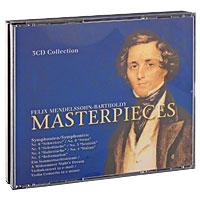 Mendelssohn-Bartholdy. Masterpieces (3 CD) gregorian the masterpieces dvd cd