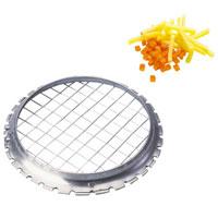 Овощерезка струнная Tescoma. 420640420640Струнная овощерезка Tescoma изготовлена из первоклассной нержавеющей стали. Это несомненный помощник в нарезке овощей для салатов на кубики или соломкой. Характеристики: Материал:сталь.Диаметр: 9 см. Размер ячейки:0,7 х 0,7 см. Производитель: Чехия. Артикул: 420640.