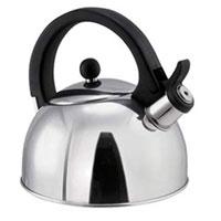 Чайник Perfecta, 1,25 л. 675512675512Чайник Perfecta замечателен для приготовления чая, растворимого кофе и т.п. Чайник изготовлен из первоклассной нержавеющей стали и снабжен свистком, сигнализирующим достижение температуры кипения. Предназначен для всех типов плит - газовых, электрических, стеклокерамических и индукционных. Характеристики: Материал:нержавеющая сталь. Объем:1,25 л. Высота (без крышки): 10 см. Размер упаковки: 17,5 см х 18 см х 18,5 см. Артикул:675512. Производитель: Чехия.