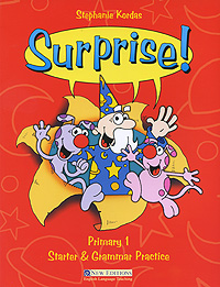 Surprise! Primary 1: Starter and Grammar Practice: Teacher's Book Pack round up starter english grammar practice teacher s guide