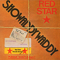 Showaddywaddy Showaddywaddy. Red Star laser logo 1199 panigal red